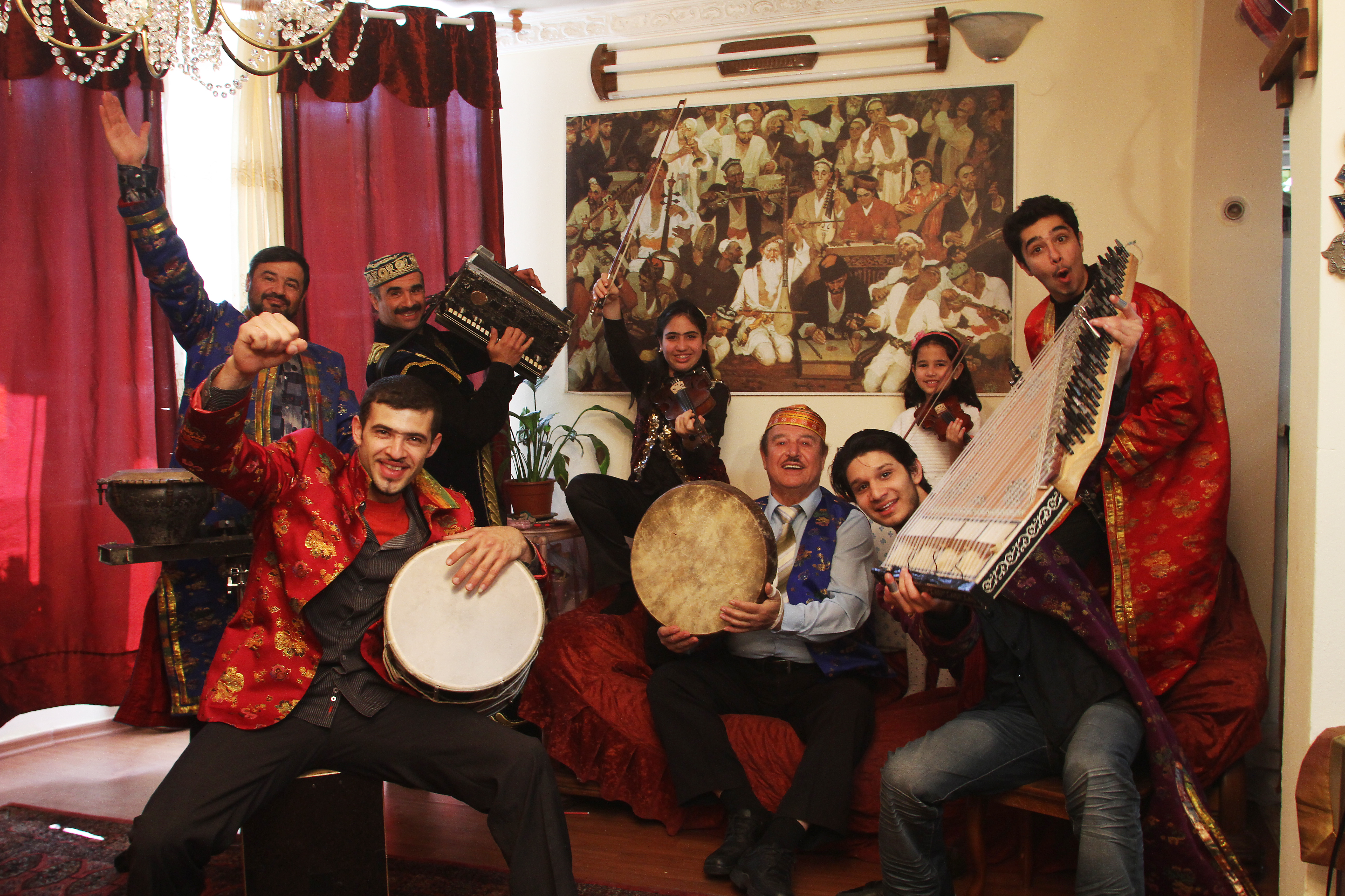 THE ALAEV FAMILY | Music from Buchara